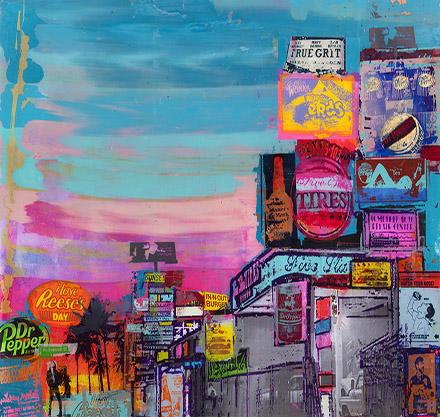 Sandra Rauch, Acrylic, Art, Kunst, California, Kalifornien, Summer, Sommer
