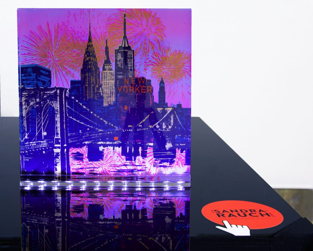 New York Silvester 300x300mm lichtschiene